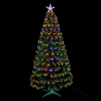 Premier 1.2m Green Christmas Tree with LEDs (FT141155)