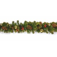 Premier 1.8m Gold Dressed Artificial Christmas Garland (DF187166)