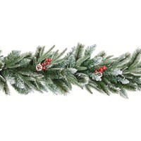 Premier 1.8m New Jersey Artificial Christmas Garland With Berries And Cone (TG199201)
