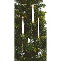 Premier 10 Pack Candle Set With Remote Control - 31cm (LB192164) Christmas Light