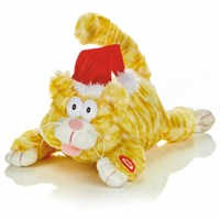 Premier 28cm Animated Laughing Cat (MB192039) Christmas Lights