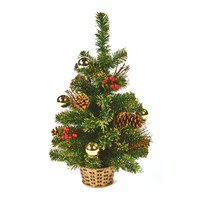 Premier 60cm Gold Dressed Artificial Christmas Tree (TRD187163)
