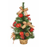 Premier 60cm Red Dressed Artificial Christmas Tree (TRD187162)