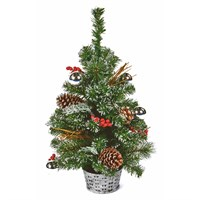 Premier 60cm Silver Dressed Artificial Christmas Tree (TRD187164)