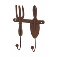 Premier Cast Iron Twin Wall Hook (BA151259)