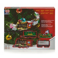 Premier Christmas Tree Train Set With Lights & Sound Battery Operated (AC191352)