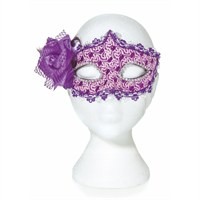 Premier Halloween Costume - Masquerade Mask - Purple (HM142181)