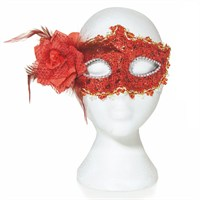 Premier Halloween Costume - Masquerade Mask - Red (HM142181)