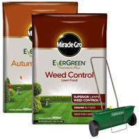 Promotion! Buy A Evergreen Autumn & Spring and A Weed & Feed and Get a Half Price Spreader - ONLINE EXCLUSIVE