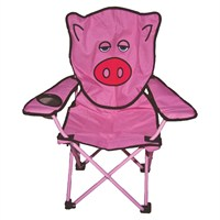 Quest Childrens Pig Fun Folding Chair (5203P)