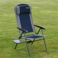 Quest Ragley Pro Blue Recline Chair With Table (F133001)