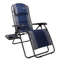 Quest Ragley Pro Blue Relax Chair With Table (F133003)
