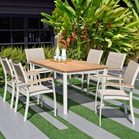 ScanCom Premium Collection Essence 6 Seat Outdoor Garden Furniture Dining Set