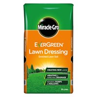 Miracle-Gro Evergreen Enriched Lawn Soil 25L (012486)