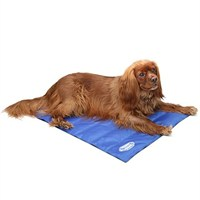 Scruffs Medium Self Cooling Dog Cool Mat - Blue (77 x 62cm)