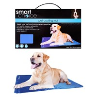 Smart Choice Large Self Cooling Pet Cool Mat - Blue (70 x 110cm) (SC600)