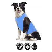 Smart Choice Large Self Cooling Pet Cool Vest - Blue (32cm) (SC637)
