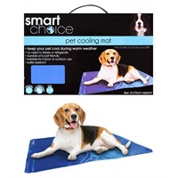 Smart Choice Medium Self Cooling Pet Cool Mat - Blue (61 x 76cm) (SC937)