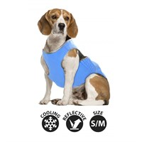 Smart Choice Medium Self Cooling Pet Cool Vest - Blue (38cm) (SC636)