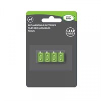 Smart Garden 1/3 AAA Rechargeable Batteries 80Mah (4Pk) Solar Batteries (1910130RC)