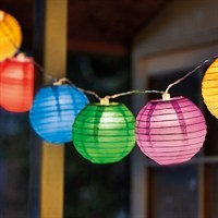 Smart Garden 10 Hanging Lanterns - Coloured (3122036)