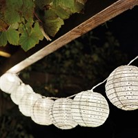 Smart Garden 10 Hanging Lanterns - Cream (3122037)