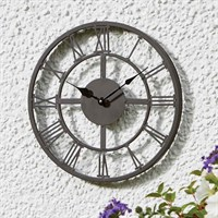 Outside In Arundel Wall Clock 14 Inch (5161000)