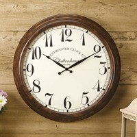Outside In Cheltenham Wall Clock 23 Inch (5062040)