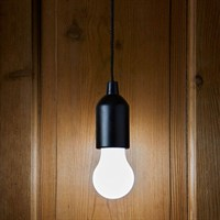 Smart Garden Click-Light Pull String Battery Light - Black (3160005)