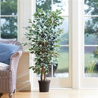 Smart Garden Faux Weeping Fig 130cm Artificial House Plant (5607004)