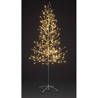 SnowTime Christmas Champagne Tree - 256 Warm White LEDs - 1.2m (RS04511)