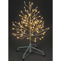 SnowTime Christmas Champagne Tree - 96 Warm White LEDs - 60cm (RS04509)