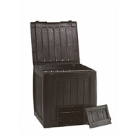 Stewarts Garden Deco Compost Bin Converter with Base - 340 Litre - Whiskey Brown (7323047)