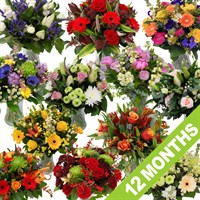 Longacres Fresh Flowers - 12 Month's Subscription