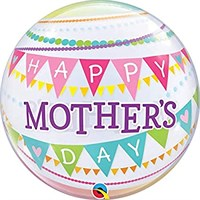 Treat Mum - Bubble Balloon Bunting Happy Mother's Day