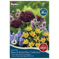 Taylors Bulbs Bees And Butterflies Collection - Pack of 75 (AV625)