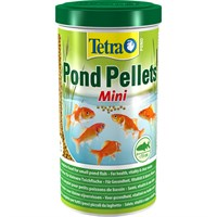 Tetra Pond Pellets Mini Fish Food 1L Aquatic