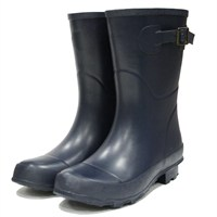 Town and Country Bradgate Short Wellington Boots - Navy