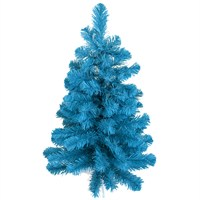 Tree Classics 60cm (2ft) Table Tree Blue Artificial Christmas Tree (24-72-300BL)