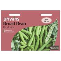 Unwins Seeds Broad Bean De Monica (31210087)