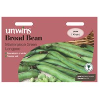 Unwins Seeds Broad Bean Masterpiece Green Longpod (31210005)