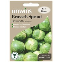 Unwins Seeds Brussels Sprout Bosworth F1 (30310027)