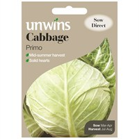 Unwins Seeds Cabbage Primo (30310049)