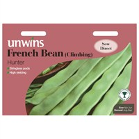 Unwins Seeds French Bean (Climbing) Hunter (31210011)