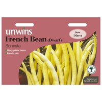 Unwins Seeds French Bean (Dwarf) Sonesta (31210016) Vegetable Seeds
