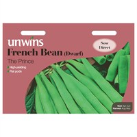 Unwins Seeds French Bean (Dwarf) The Prince (31210020)