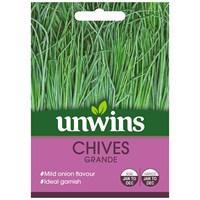Unwins Seeds Herb Chives Grande (30410059)