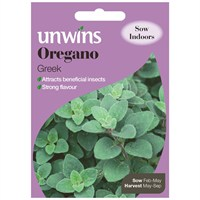 Unwins Seeds Herb Oregano Greek (30410019)