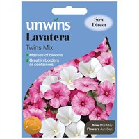 Unwins Seeds Lavatera Twins Mix (30210557)