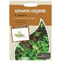 Unwins Seeds Lettuce Cut And Come Again (Organic) (30610033)